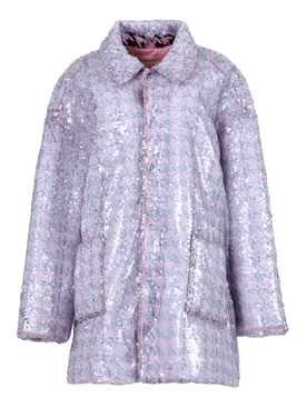 Light Pink Sequin Jacket