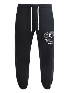 X NATASHA ZINKO black jogger pants