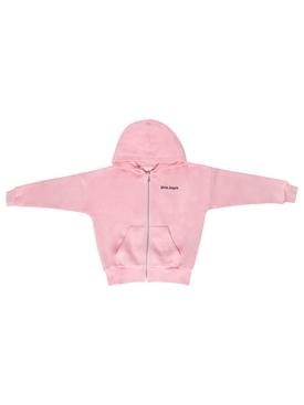 Kids Classic Logo Zip hoodie Pink