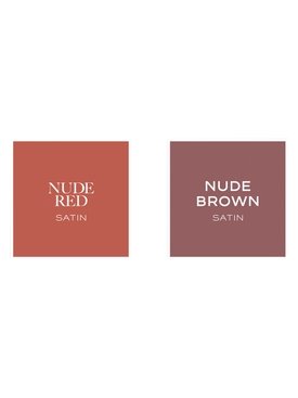 The Brown Nudes - Red Lipstick Set 6.8g NET WT. / 0.22 oz
