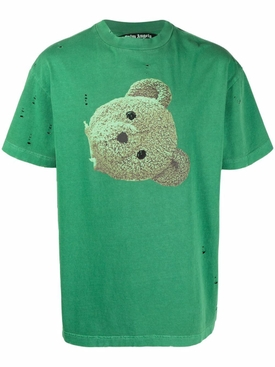 classic bear head tee, green