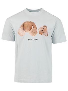 Classic Bear T-shirt, ILLUSION BLUE AND BROWN