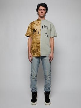 Broken Logo T-Shirt, Military Multi
