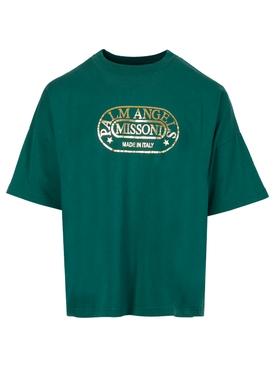 X Missoni Heritage Loose Tee Green