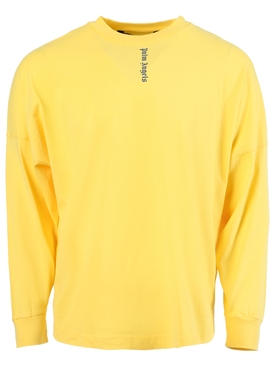 Vertical Logo Long Sleeve T-Shirt