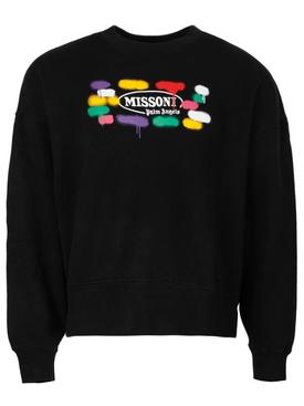 X Missoni Sport Crewneck Sweater Black