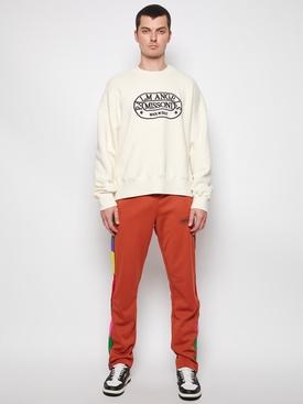 X Missoni Heritage Crewneck Sweater Off-White