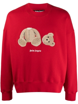Red Bear Graphic Crewneck