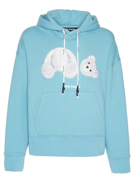 Blue Ice bear logo hoodie