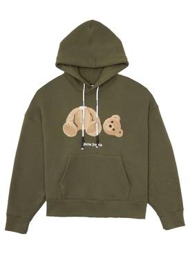 Bear Hoodie MILITARY BROWN