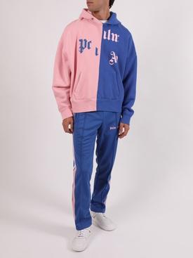 x NBA Broken Logo Hoodie BLUE PINK