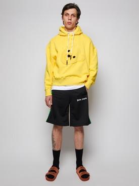 bear head hoodie yellow