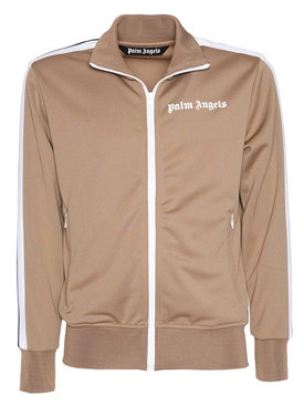 Classic logo track jacket BROWN