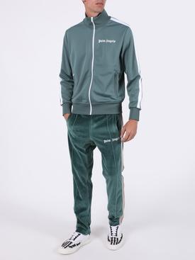 Classic logo track jacket GREEN/WHITE