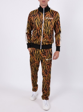Tiger print track jacket