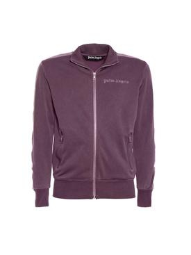Dyed track jacket PURPLE