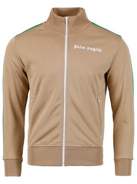 Exodus classic track jacket NOUGAT NEUTRAL AND WHITE