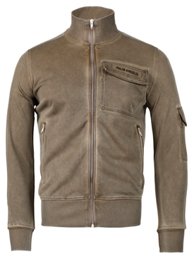 CARGO TRACK JACKET BROWN