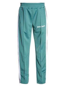 Classic logo track pants GREEN/WHITE