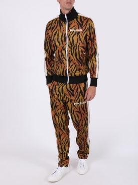 Tiger print track pants