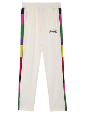 X Missoni Track Pants OFF-WHITE