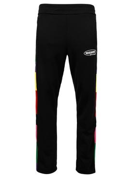 X Missoni Track Pants BLACK