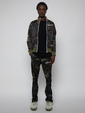 Jungle track pants, military green