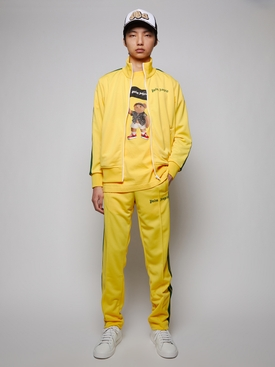 Classic track pants, yellow and green
