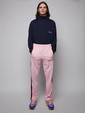 Classic track pants, pink and burgundy