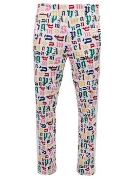 Multicolored Monogram Track Pants