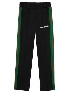 College slim track pants Black/White