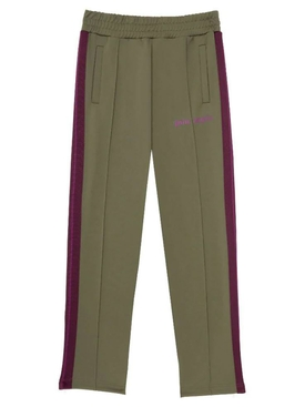 College slim track pants Military Purple