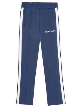 Classic slim track pants Navy Blue