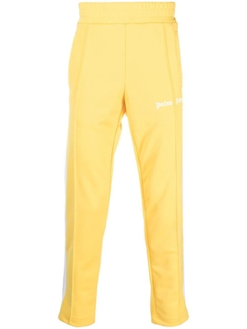 Classic slim track pants Yellow White