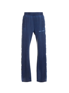 Dyed track pants NAVY BLUE