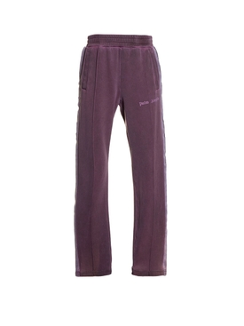 Dyed track pants PURPLE