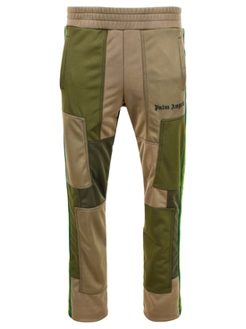 Patchwork classic track pants