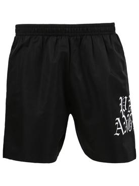 Hue gothic logo shorts