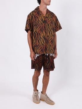 Tiger mesh shorts