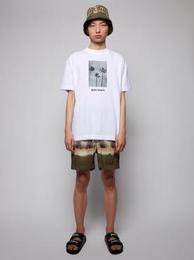 Bleached logo shorts