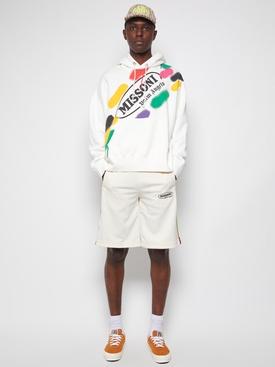 X Missoni Track Shorts OFF-WHITE