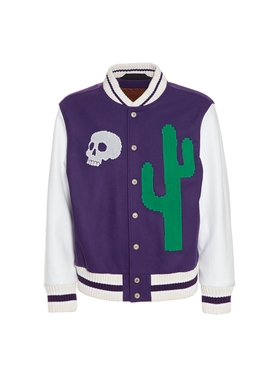 New folk varsity bomber jacket