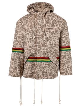 Monogram Jacquard Parka Jacket