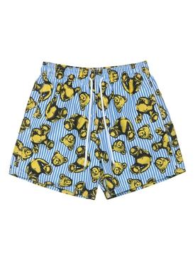 X Vilebrequin Bear Stripes Swim Shorts