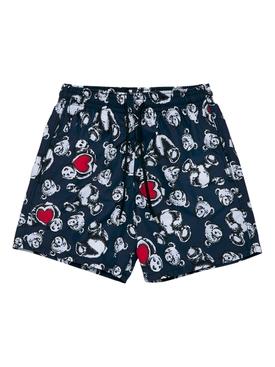 X Vilebrequin Bear Swim Shorts