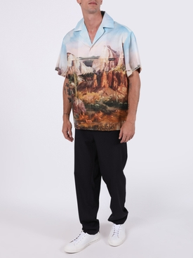 PANORAMIC CANYON BOWLING SHIRT