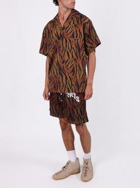Tiger Print Bowling Shirt