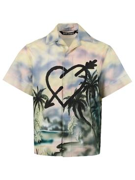 Paradise bowling shirt