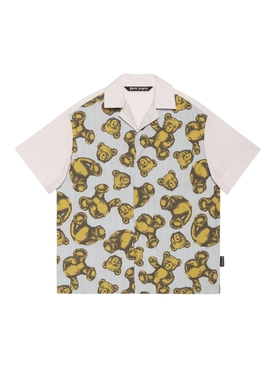 Allover bears bowling shirt