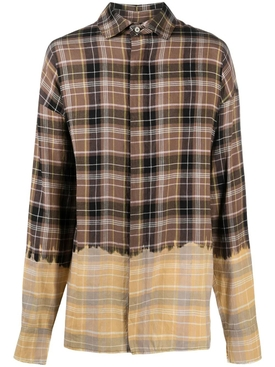 Bleached loose shirt